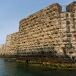 The view of historic sea walls - Foto Stock