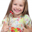 Cute little girl — Stock Photo #10851014
