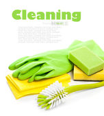Devices for cleaning — Stock Photo
