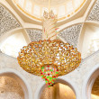 Decoration of Sheikh Zayed Mosque. Abu Dhabi — Stock Photo #11556588