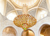 Decoration of Sheikh Zayed Mosque. Abu Dhabi — Stock Photo