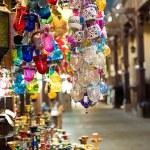 Oosterse lantaarns winkel — Stockfoto