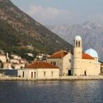 Island church in Perast Boka Kotorska Bay, Montenegro — Stock Photo #11868166