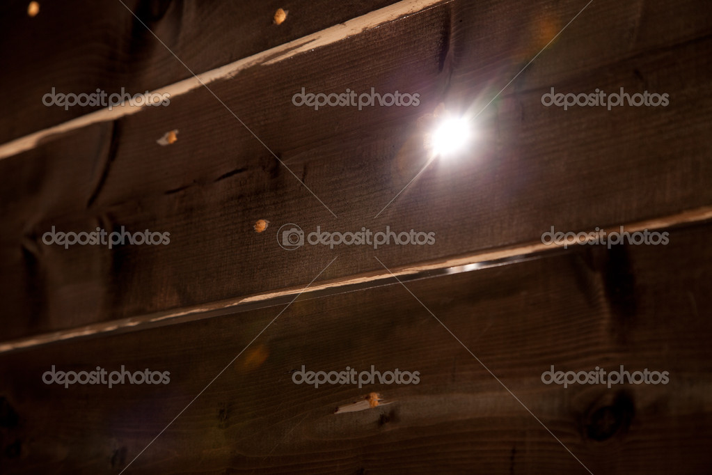 Wooden background with light spot — Stock Photo #11153994