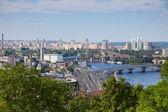 Panorama of Kiev, Ukraine. — Stock Photo