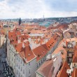 Prague city. Panorama - Stock Photo