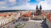 Prag şehir. panorama — Stok fotoğraf