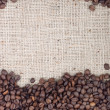 Brown roasted coffee beans. — Stock Photo #11123014