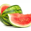 Fresh, ripe, juicy watermelon. Shot on White — Stock Photo #11881098