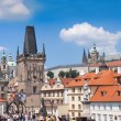 Prague. Charles Bridge in Prague  Czech Republic — Foto de Stock