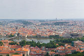 Huge 360 panorama of Prague — Stock Photo