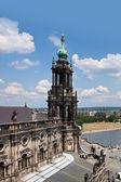 Huge panorama of Dresden, Germany — Stock Photo