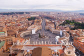 Panorama of Vatican and Rome — Stock Photo