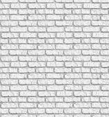 White brickwall seamless background. — Stock Photo