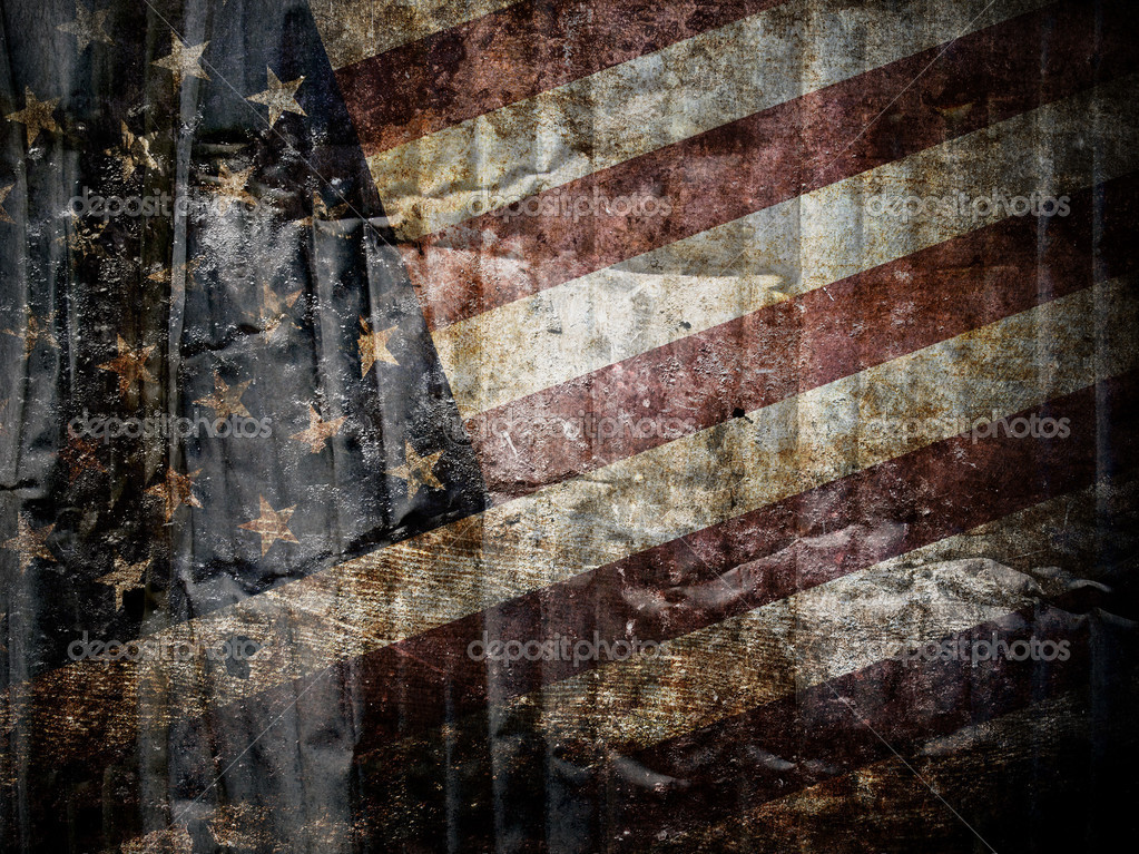 American flag background. — Stock Photo #11317510