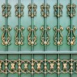 Ornamental fence. — Stock Photo #11688249