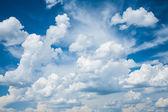 Cumulus clouds — Stock Photo