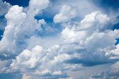 Cumulus wolken — Stockfoto