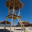 Water lifeguard watchtower — Stock fotografie