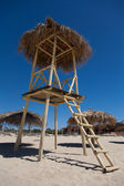 Water lifeguard watchtower — Stock Photo