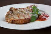 Pork chops with BBQ sauce — ストック写真