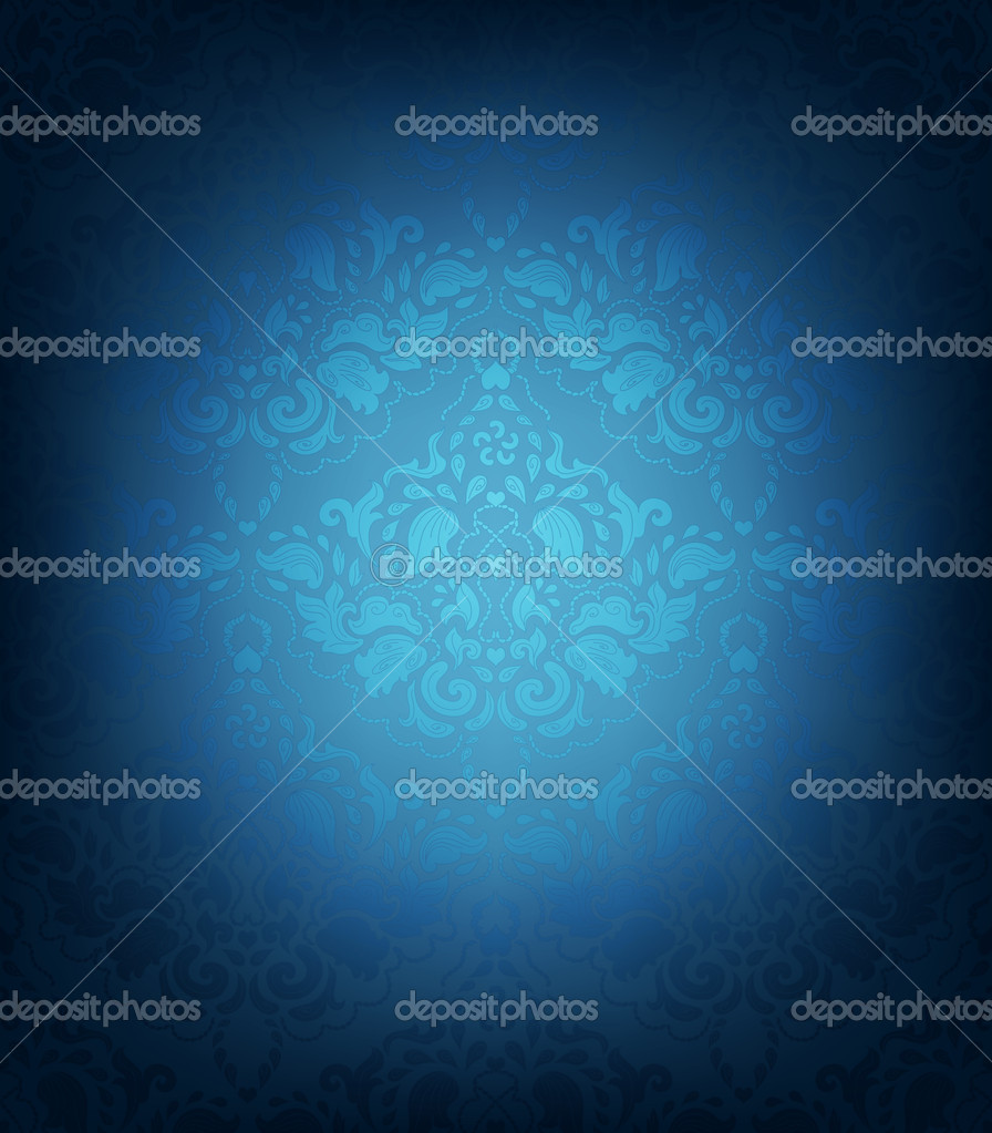 Seamless Vector Floral Ornament — Stockvectorbeeld #10885751