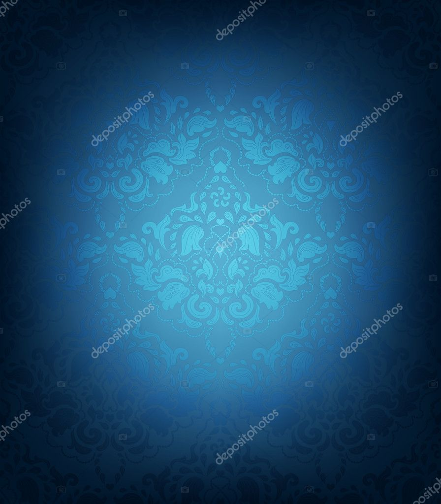 Seamless Vector Floral Ornament — ベクター素材ストック #10885751