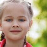 Beauty Little Girl — Stock Photo #11027292