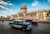 Havana, Cuba - on June, 7th. capital building of Cuba, 7th 2011. — 图库照片