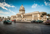 La habana, cuba -, el 7 de junio. edificio capital de cuba, 7 de 2011. — Foto de Stock