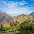 Dhankar Gompa. India. Spiti Valley — Stock Photo
