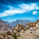 Dhankar Gompa. India. Spiti Valley — Stock Photo #11796168