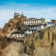 Stock Photo: Dhankar Gompa. India. Spiti Valley