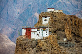 Dhankar gompa. inde. vallée de spiti — Photo