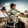 Young biker — Stock Photo #12029183
