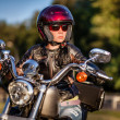 Biker girl — Stock Photo #12029244