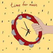 Time for Music! — Stock Vector