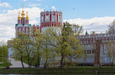Novodevichy Convent in Moscow — Stock Photo