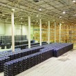 Big constitution for storage of finished goods at a factory — Stock Photo #10929403