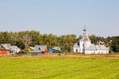 Church in Suzdal. Gold ring of Russia — Stock Photo