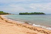 バリ島の砂浜 nus duah の周りのビュー — ストック写真