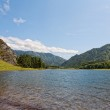 Beautiful view of mountain river in summer,Altai Mountains,Russia — Stock Photo #11323206