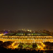 Stadium Luzniki at night in Moscow — Stock Photo