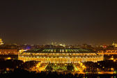 Stadium Luzniki at night in Moscow — 图库照片