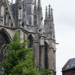 Sacred Rumold's cathedral in Malines, Belgium. It is entered in the list the world heritage of UNESCO — Stock Photo