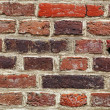 Background from old times of a brick wall — Stock Photo