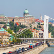 Hungary, Budapest. View of Danube and Royal castle — Stock Photo