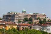ヨーロッパ、ハンガリー、ブダペスト、キャッスル ヒルと城 — ストック写真