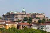 Europe, Hungary, Budapest, Castle Hill and Castle — Stock Photo
