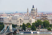 Hungary, Budapest, view of Sacred Stephane's basilica — Stock Photo